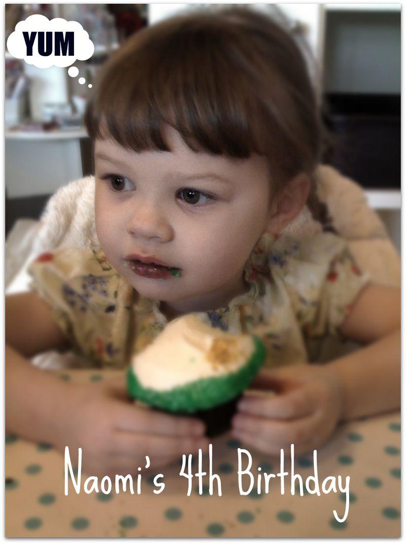 Naomi birthday cupcake 2