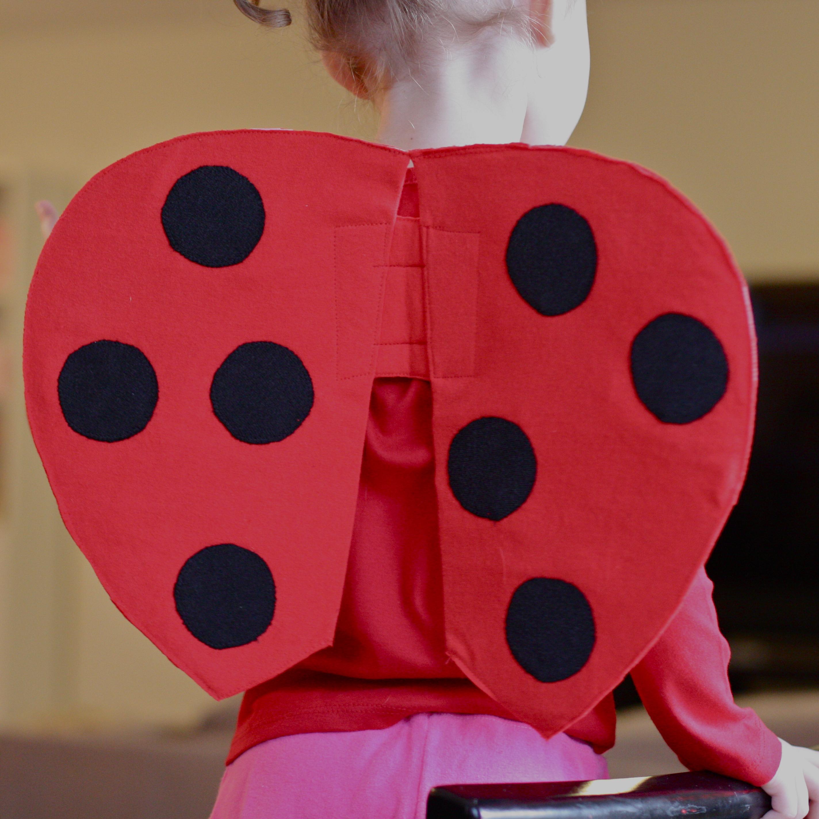 Handmade dress up diy very quick ladybug wings tutorial img2238 solutioingenieria Choice Image