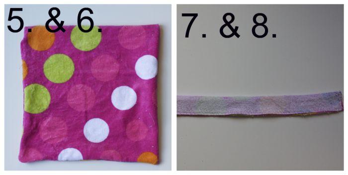 Towel 5, 6, 7, 8