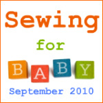 Sewing for baby 150