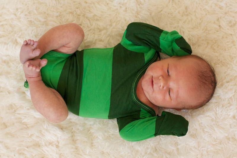Green onesie 095