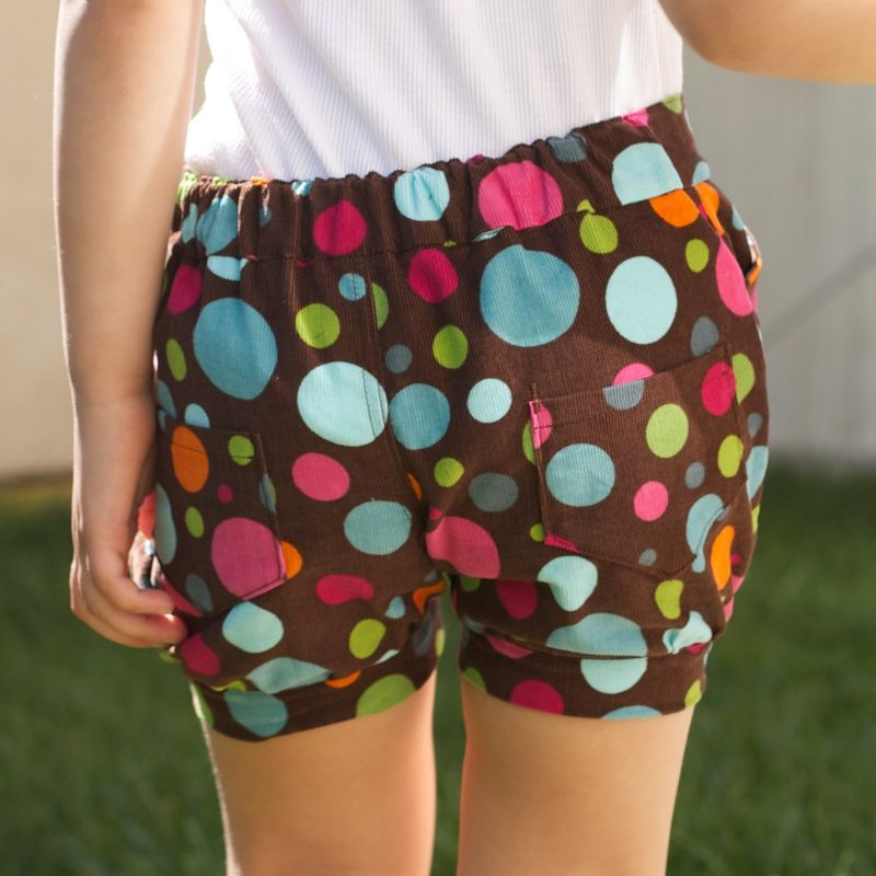 girls' shorts pattern review