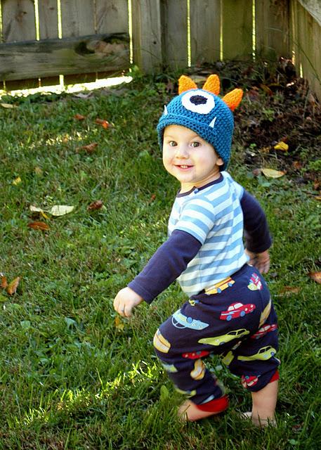 Crochet Monster Hat Tutorial Andreas Notebook