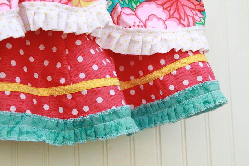 Fancy skirt 140