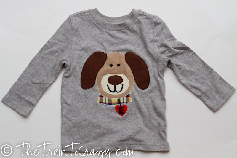 E dog shirt-4618