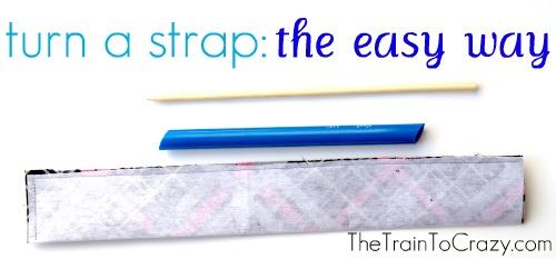 Turn a strap