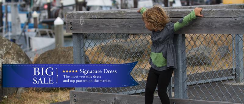 Signature dress big sale
