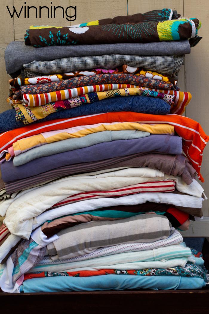 Fabric-winning