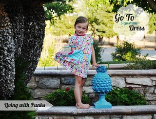 Go To Signature dress sewing pattern by living with punks