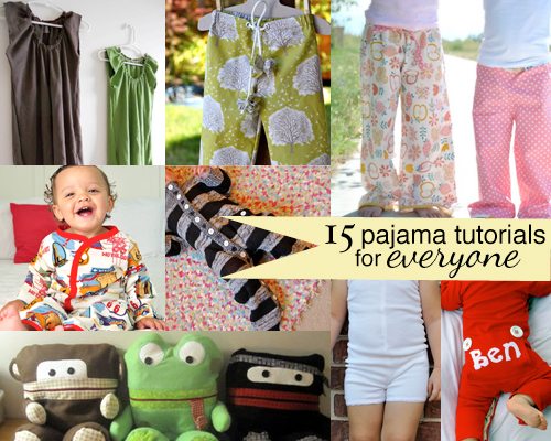 15 Pajama And Nightgown Tutorials And Patterns Andreas Notebook
