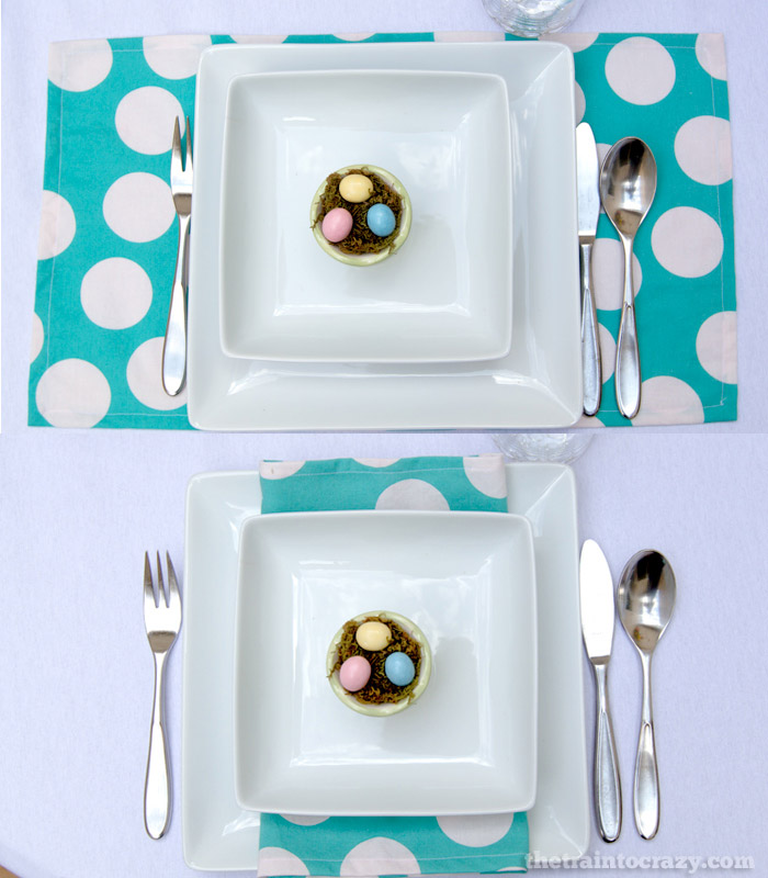 "Use a ""lapkin"" as a placemat or a napkin. #tutorial"