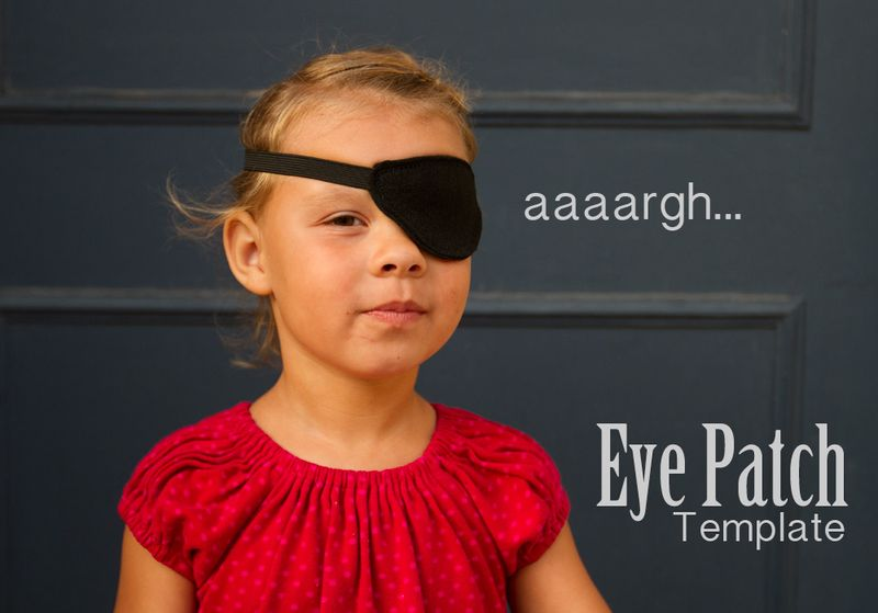 Diy Pirate Eye Patch Tutorial Andrea
