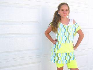 go to signature dress tunic off shoulder