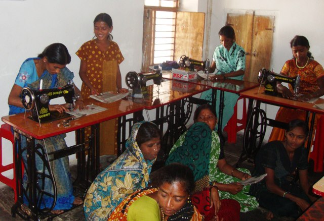 Indian rescue mission sewing
