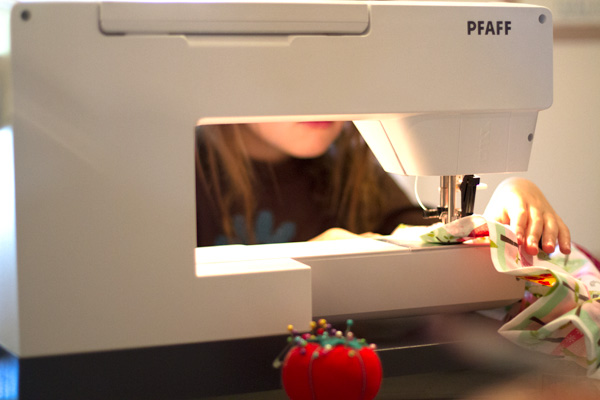 teach kids to sew pfaff