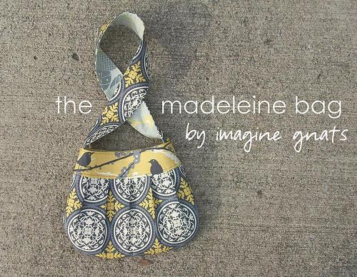 Madeleine bag free pattern and tutorial