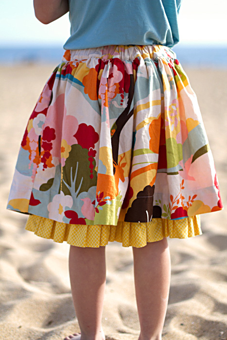 Boardwalk-skirt sewing pattern