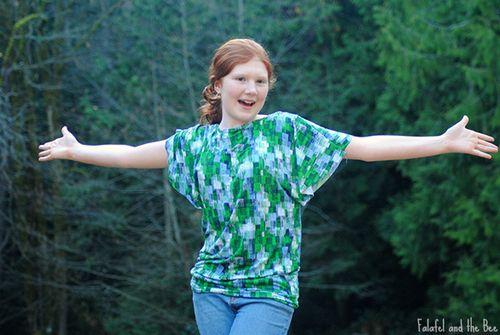 wings dolman shirt for teen DIY