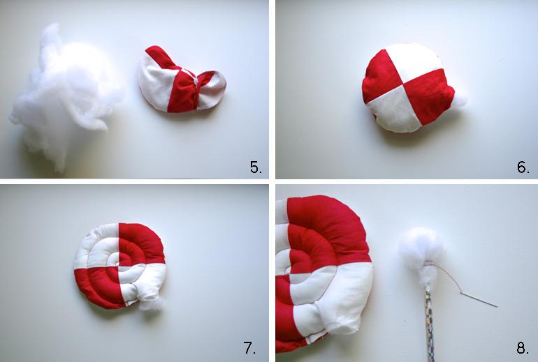 Hot to make giant lollipop tutorial 2