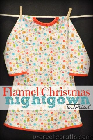 flannel nightgown tutorial