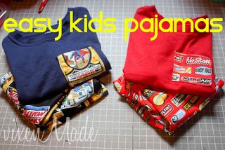 easy kids pajamas for beginners