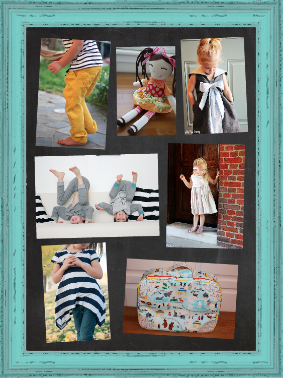 how to use the inspiration board sew fab pattern sale