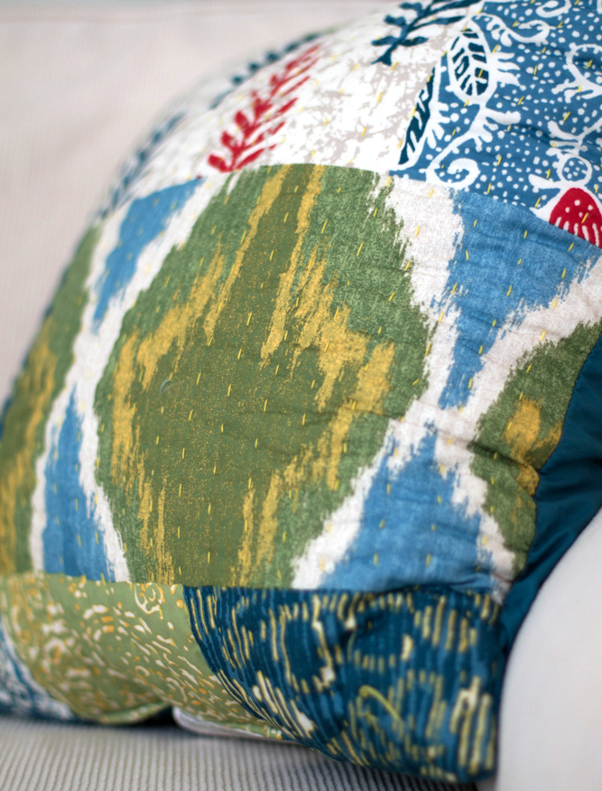 threshold ikat pillows