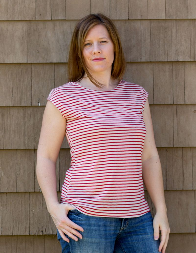 Casual Lady sewing pattern for women