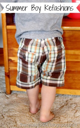 boy shorts refashion