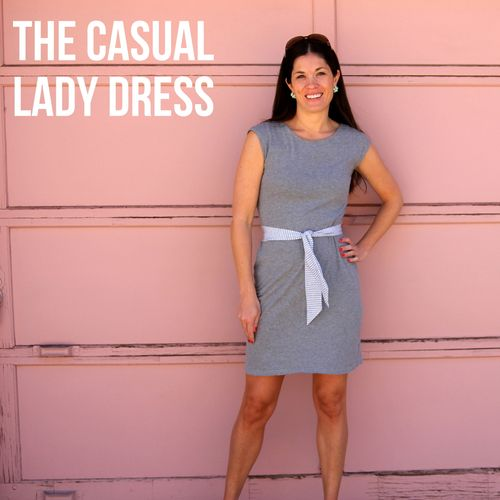 Casual lady