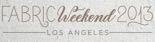 Fabric weekend logo