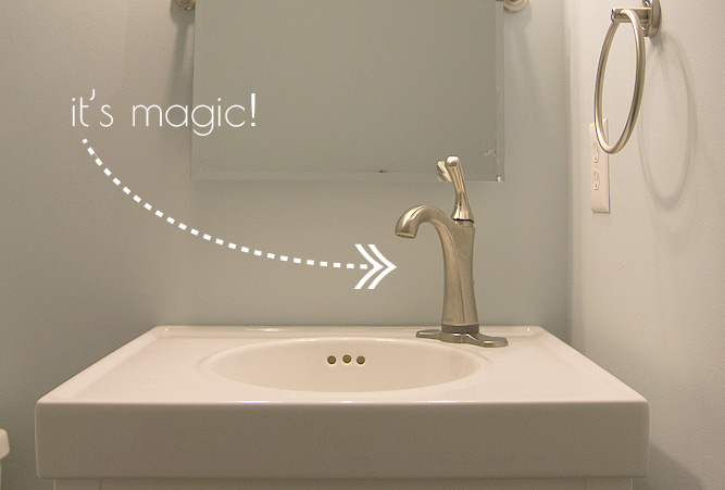 Magic-faucet
