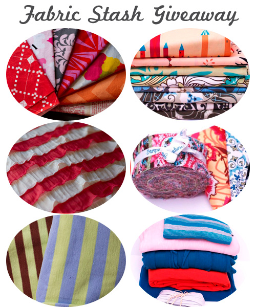 Win a huge fabric stash giveaway!