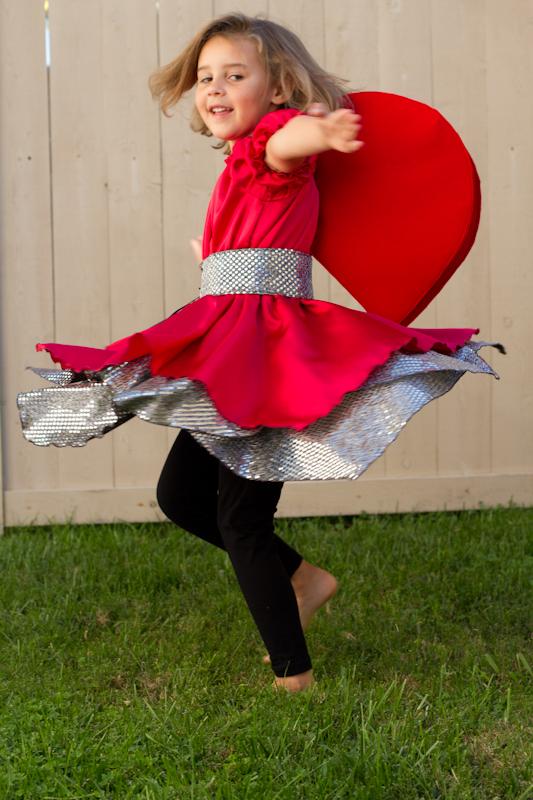 Ladybug costume that twirls!