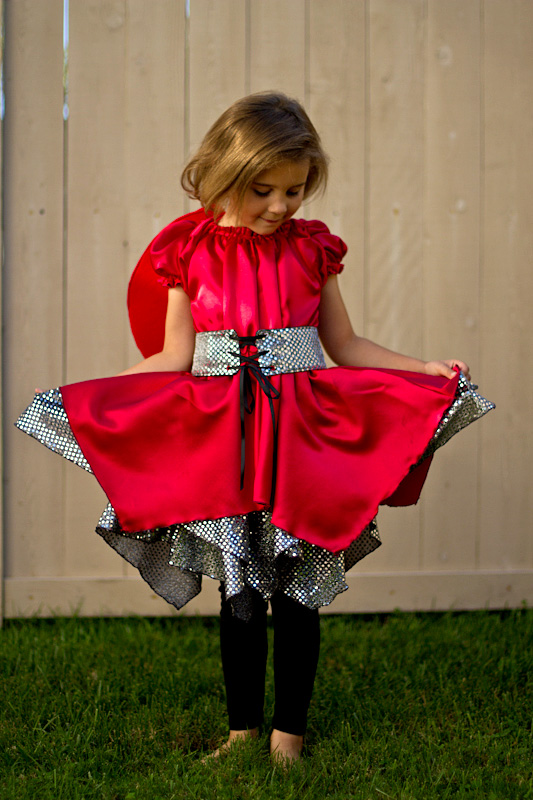 make a fancy ladybug costume!