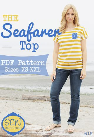 Dolman top pattern cover