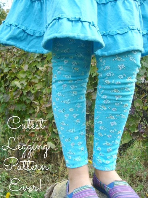 cutest legging pattern ever