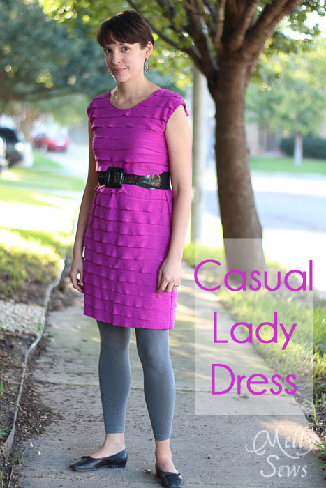 Casual Lady sewn by Melly Sews
