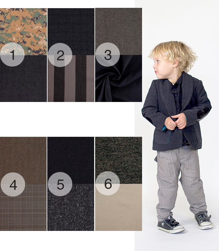 Choosing great fabrics for boys