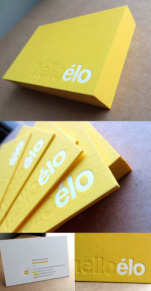 Yellow-letterpress