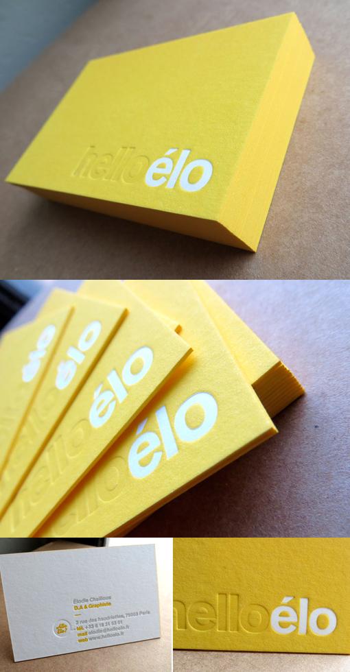 Yellow-letterpress
